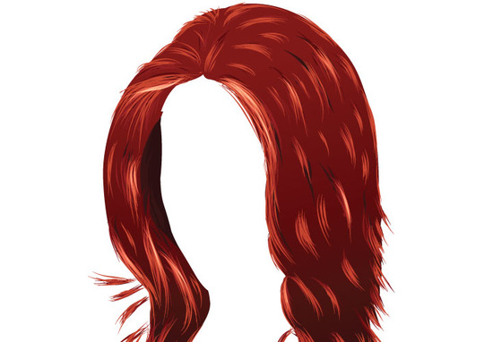 Tutorial on Creating Hair in Illustrator