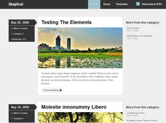 119+ Elegant and Modern Free WordPress Themes