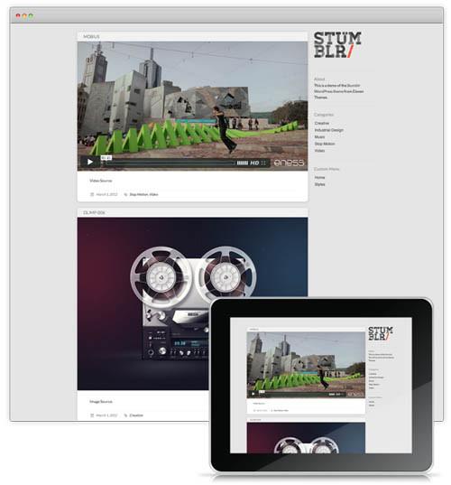 17+ Amazing Free Tumblr-Style WordPress Themes