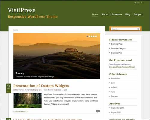 250+ Impressive Free Responsive WordPress Themes