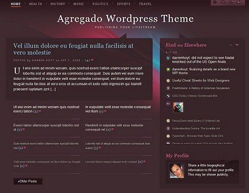 40+ Modern and Elegant Free WordPress Themes