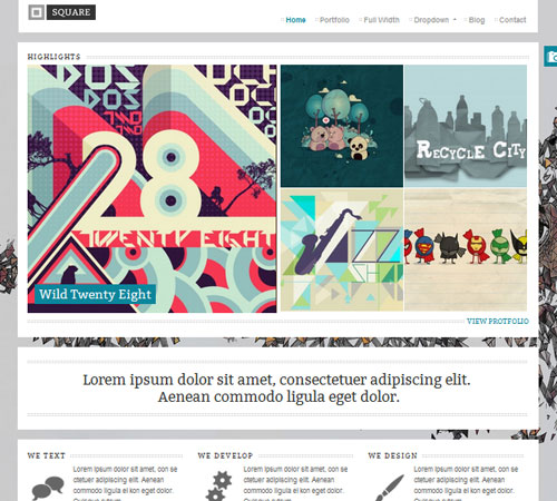 40+ Premium Portfolio WordPress Themes