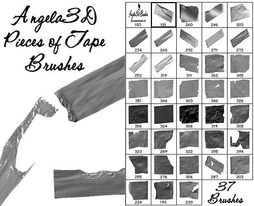 50 Amazing Collections of Free Photoshop Brushes