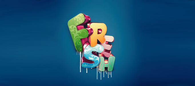 50 Marvelous Text Effect Photoshop Tutorials