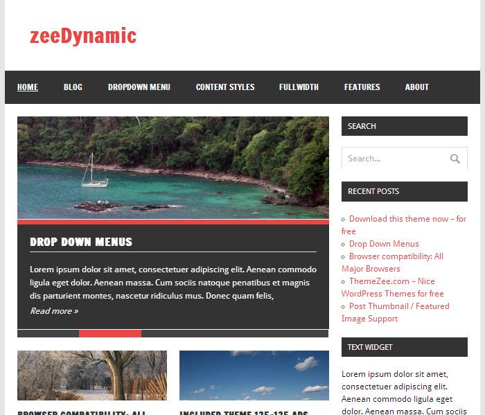 55+ Beautiful Free WordPress Magazine Themes