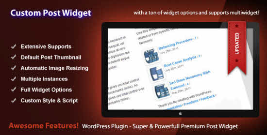 9+ Useful WordPress Recent Post Widgets