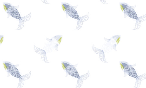 Beautiful and Free Fish Themed Patterns