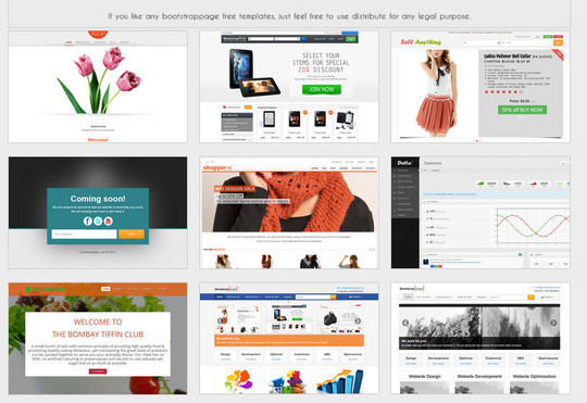 17+ Free Responsive Bootstrap Themes and Resources