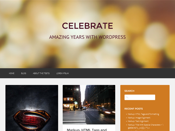 20+ Attractive Free WordPress Themes