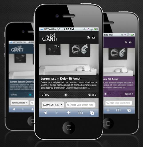 25+ High Quality WordPress Mobile Themes