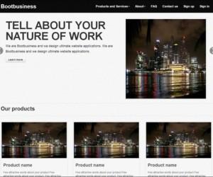 29+ Impressive Responsive Bootstrap Templates