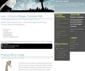 Top 50 Beautiful Blogger Templates