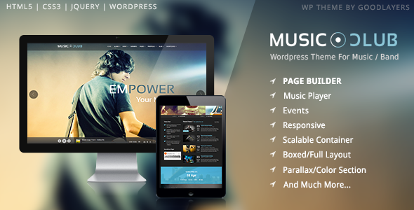 24+ Fresh and Clean Entertainment WordPress Themes