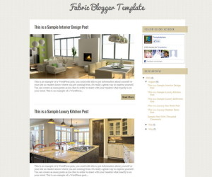 39+ Attractive Free Templates for Bloggers