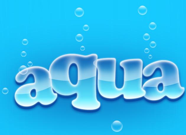 How to Create Aqua Wallpaper in Photoshop?
