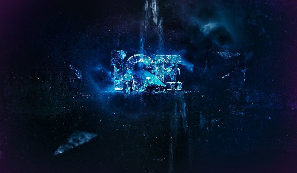Chilling Ice Text Effect in Photoshop