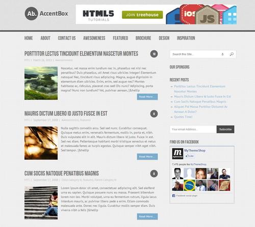 Free Responsive WordPress Magazine Themes