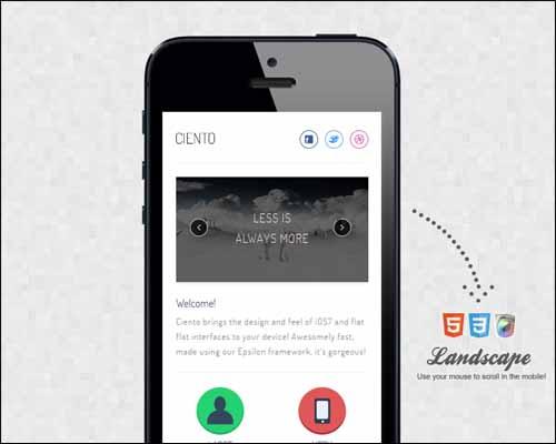 WordPress GSM Mobile HTML5 Templates