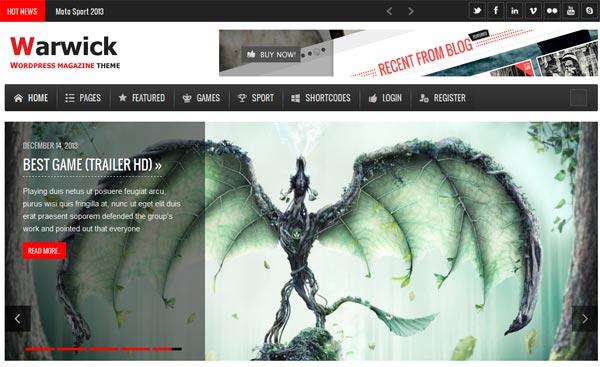 WordPress Magazine News Templates 2014