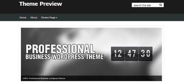 Free WordPress Business Templates