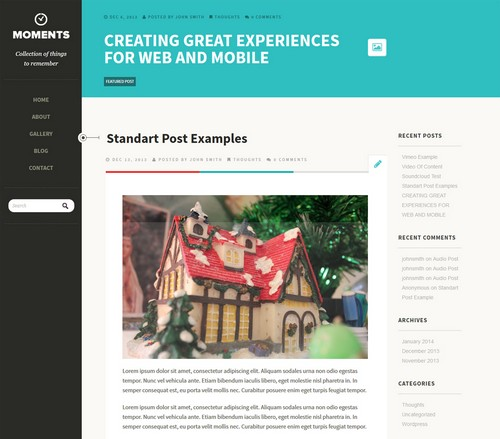Free WordPress Personal Blog Templates