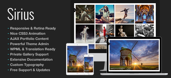 Full Screen WordPress Multi-Purpose Themes 2014