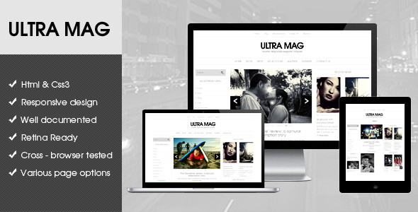 WordPress Flat Magazine Templates