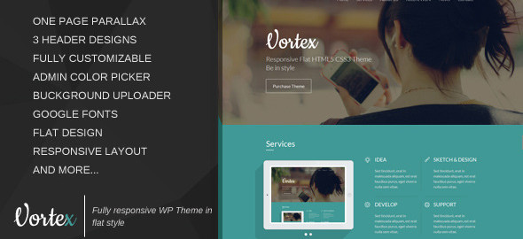 WordPress Flat Themes