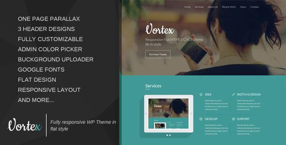 WordPress Flat Themes