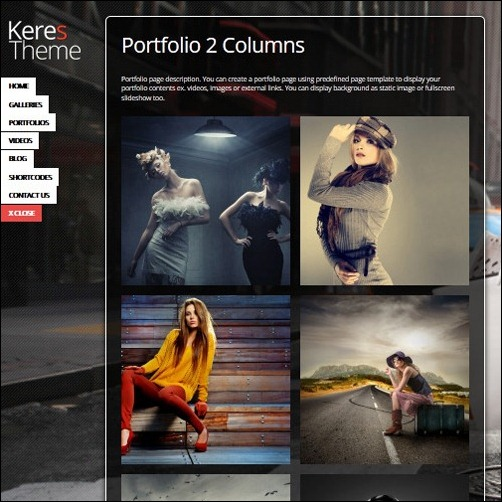 WordPress Photography Templates 2014