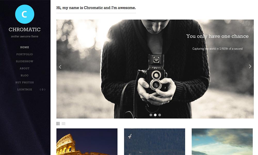 WordPress Photography Themes 2014